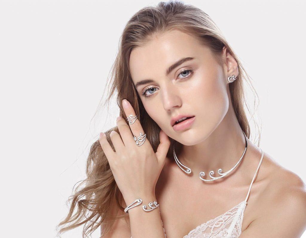 silver girl jewelry