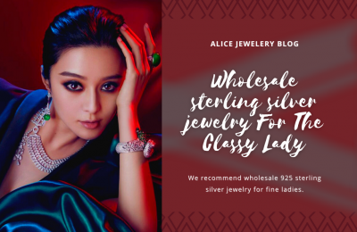 Wholesale sterling silver jewelry For The Classy Lady
